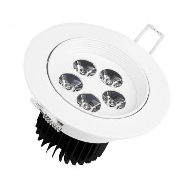 Spot LED Downlight Rond 5x1W