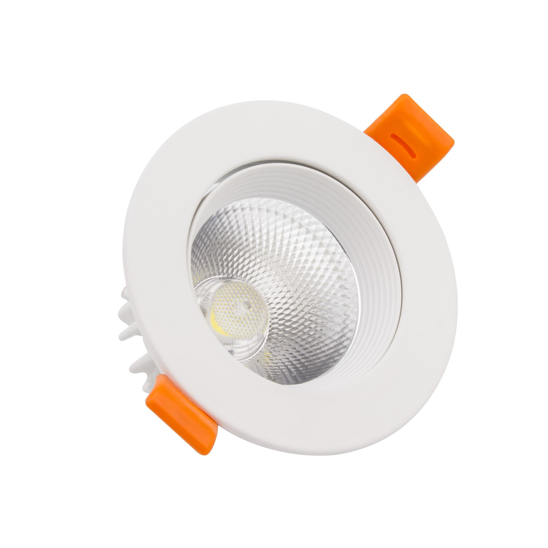 Faretti Led Incasso Quadrata 18W Downlight LED Bianco Freddo 6000k-6500K LEDKIA