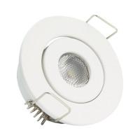 Faretto Downlight LED COB Orientabile Rotondo 1W Bianco