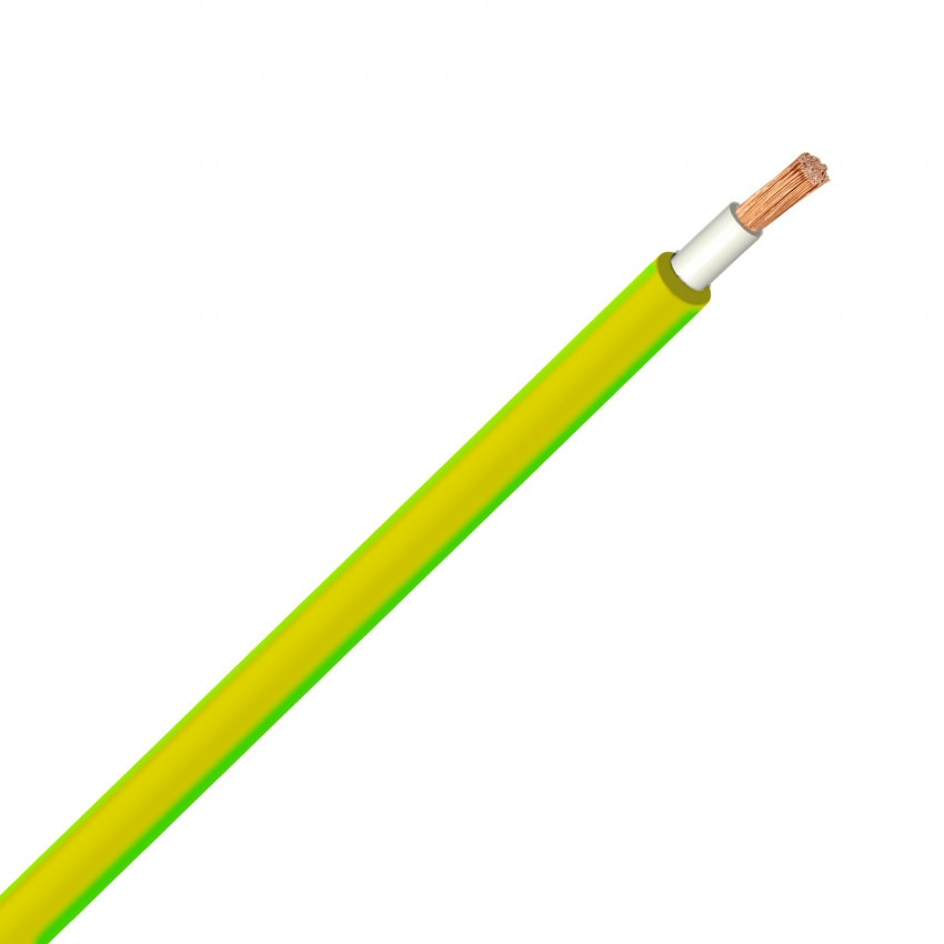 Cavo 6mm² H07V-K Giallo/Verde