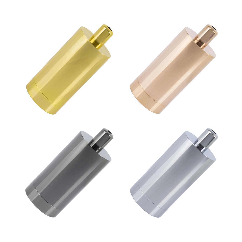 Portalampada metallizzato per lampadine led e27 ledkia for Portalampada led