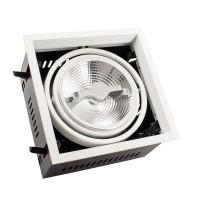 Faretto LED CREE-COB Orientabile AR111 15W Regolabile