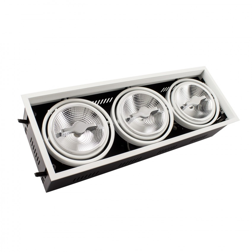 Foco LED Cree Direccionable Etna AR111 3x15W Regulable