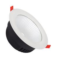 Faretto Downlight LED COB SAMSUNG Circolare 42W LIFUD Bianco