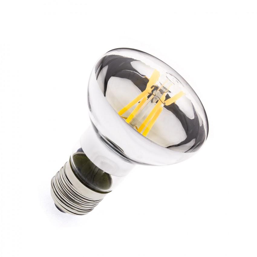 Lampadina LED E27 Regolabile Filamento R63 6W