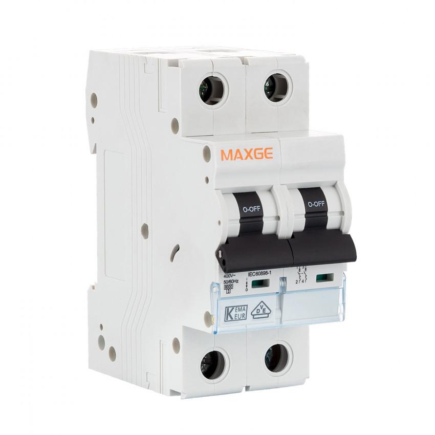 Interruttore Automatico Residenziale MAXGE 2P-6kA 6-63A