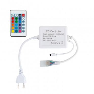 Controller striscia led rgb 220v telecomando ir 24 for Striscia led rgb