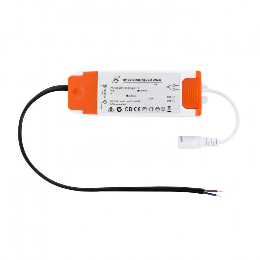 Driver Regolabile 1-10V Plafoniera / SuperSlim 90-265V Output 30-60V 300mA 15-18W