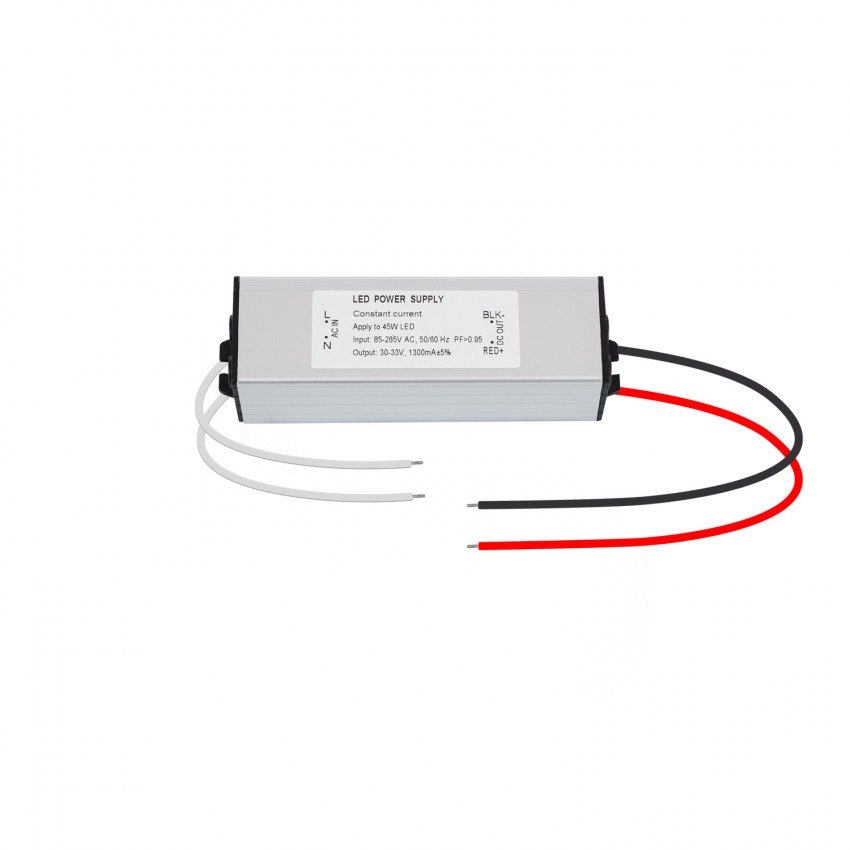 Driver Universal IP65 85-265V Output 30-33V 1300mA 45W