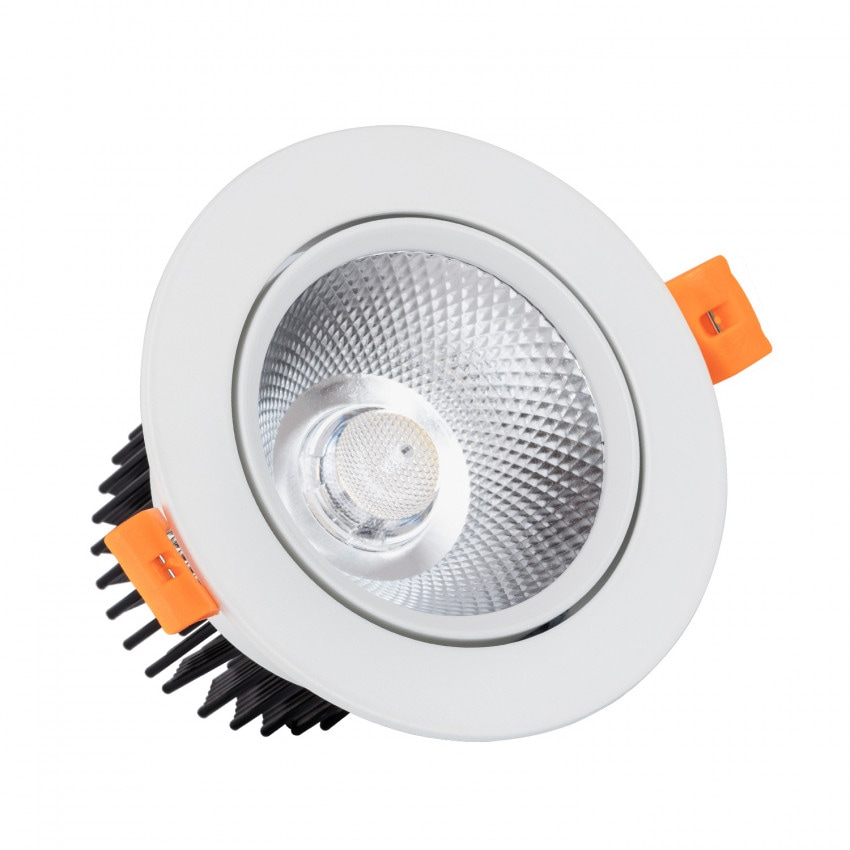 Foco LED Downlight Circular COB 12W Blanco