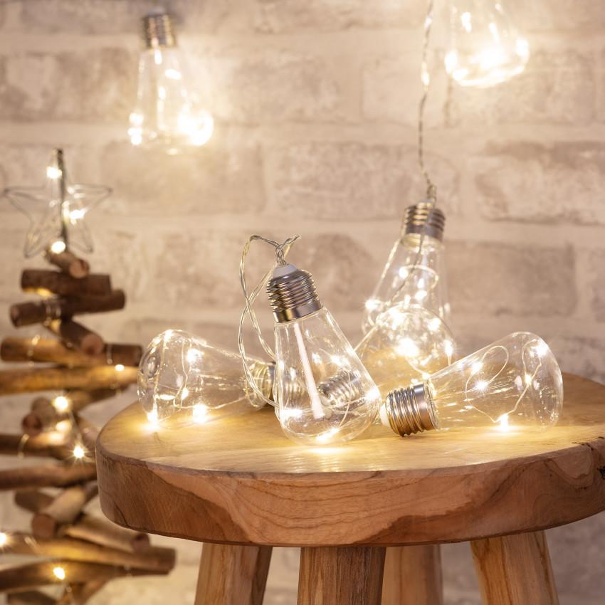 Ghirlanda di Lampadine LED Edison 2m