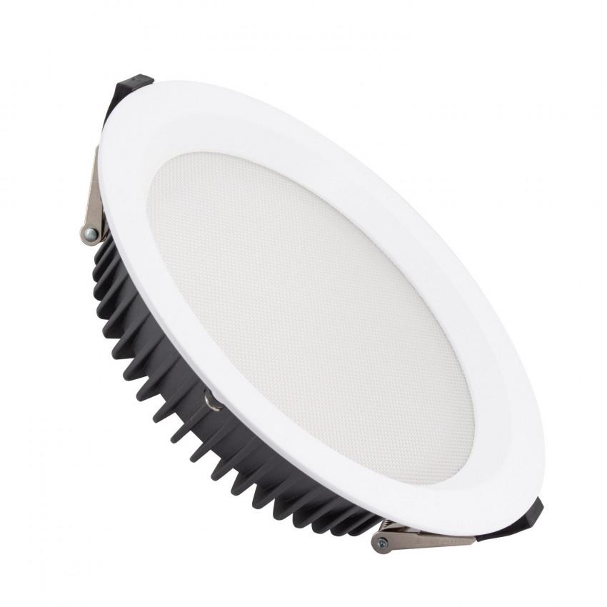 Downlight LED 40W SAMSUNG New Aero Slim 130lm/W (UGR17) LIFUD Foro Ø 200mm