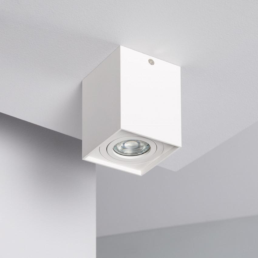 Applique da Soffitto Jaspe Alluminio Bianco