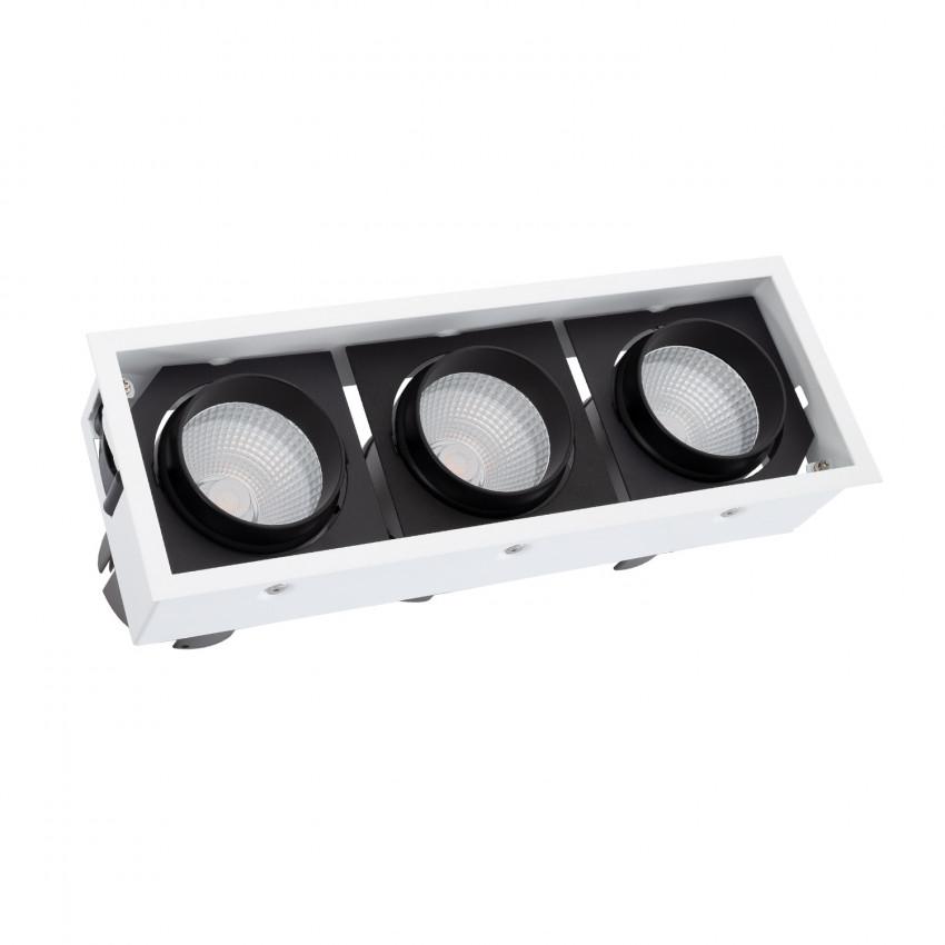 Faretto LED COB Orientabile Kardan 90W LIFUD Foro 330x110 mm