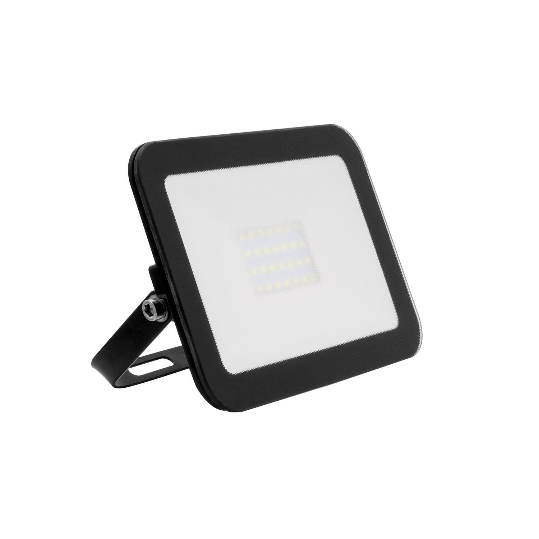 Naświetlacz LED Slim Szklany 20W Czarny