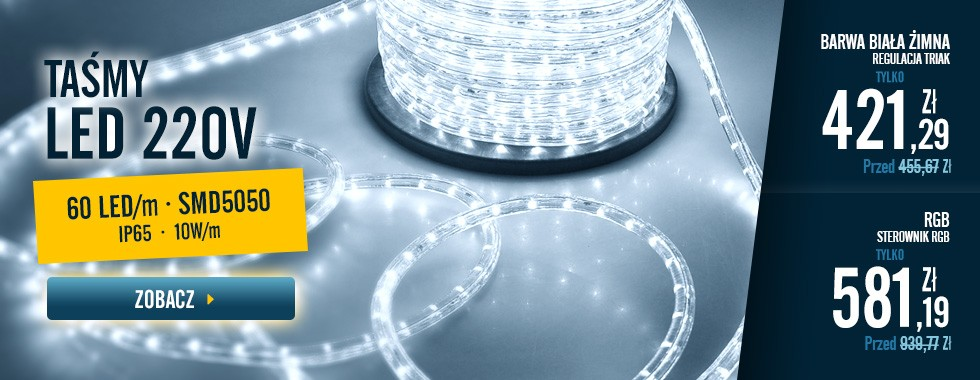 Szpula Taśmy LED 220V AC
