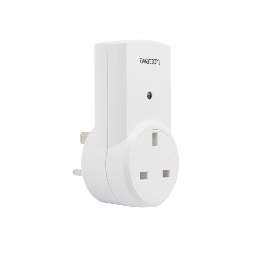 white uk plug with an ir remote control ledkia united. Black Bedroom Furniture Sets. Home Design Ideas
