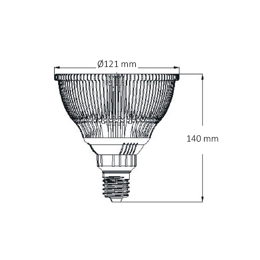 par38 12w cob led lamp
