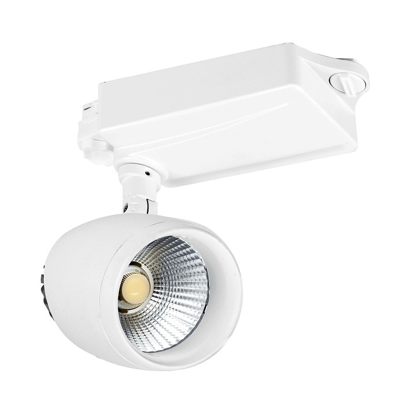 30W Crockett Cree LED Spotlight for a Three-Circuit Track