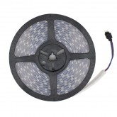 5m RGB LED Strip 12V DC, SMD5050, 120LED/m, IP67