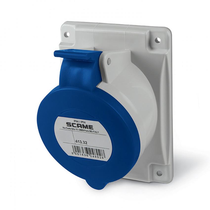 SCAME Optima Series 32 A Watertight Wall Base - IP54