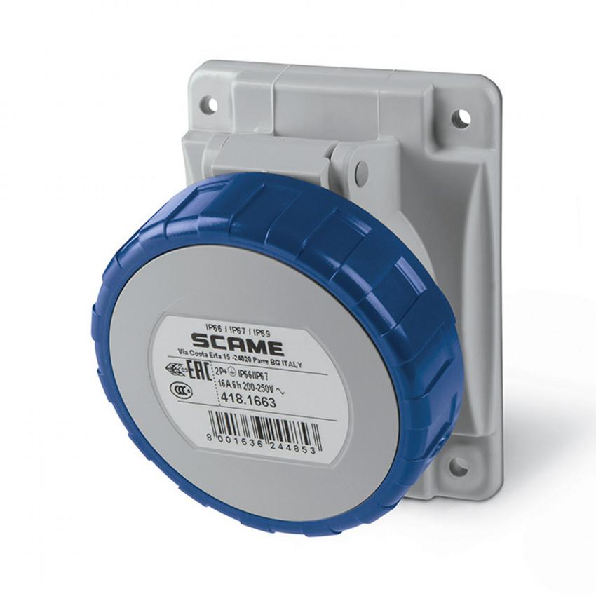 SCAME Optima Series 16 A Watertight Wall Base - IP67