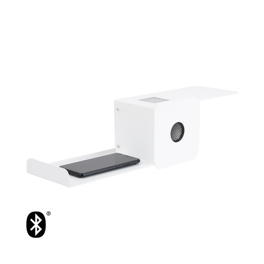 10W Damon LED Wall Light with Bluetooth Speaker and USB charger