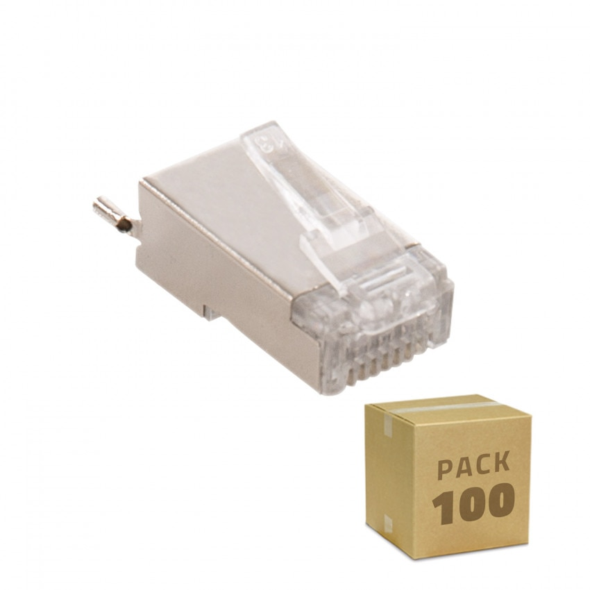 Pack of Outdoor RJ45 Connector (100 un)