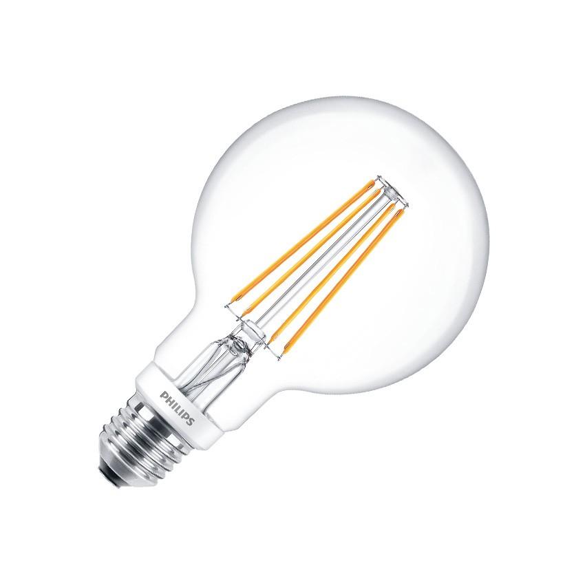 E27 G93 CLA 8W PHILIPS Globe Filament LED Bulb (Dimmable)