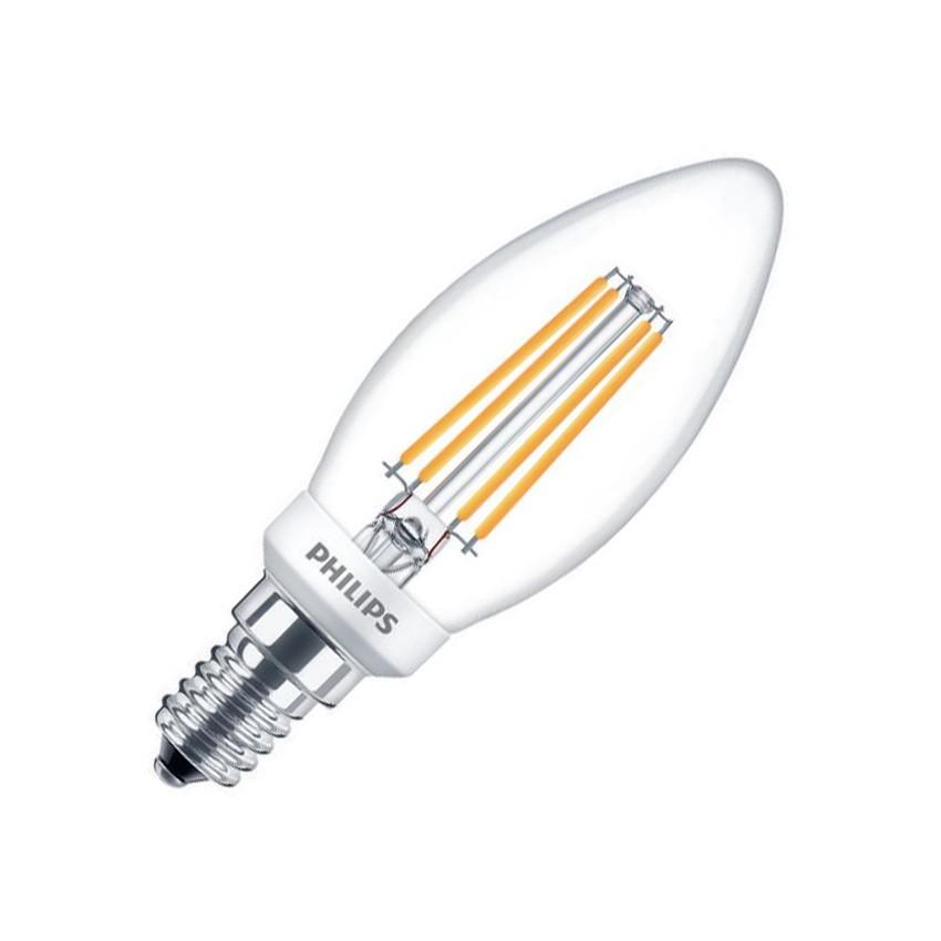 E14 4.5W PHILIPS B35 CLA Candle Filament LED Bulb (Dimmable)