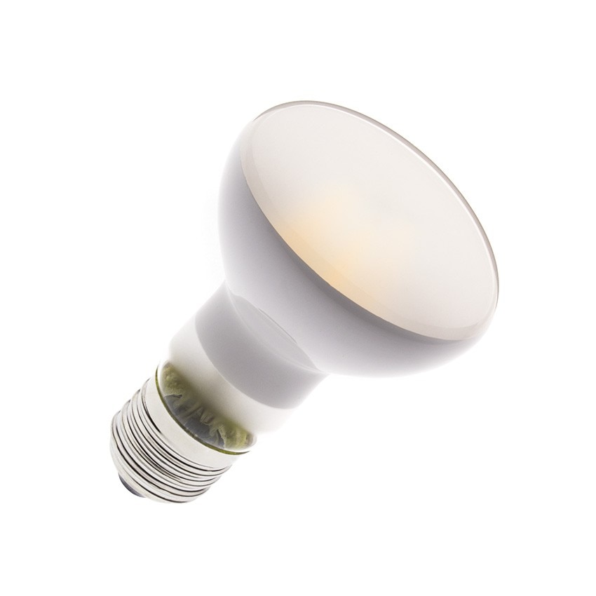 R63 E27 6W Frost Filament LED Bulb (Dimmable)