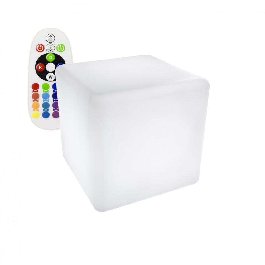 50cm Rechargeable RGBW LED Cube