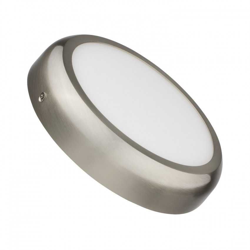 Silver Round Design 18W LED Surface Panel