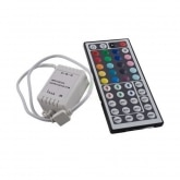 12V RGB LED Strip Controller + IR Remote Control Dimmer with 44 buttons