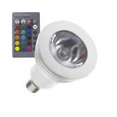 E14 3W RGB LED Bulb