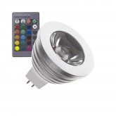 GU5.3 MR16 60º 3W RGB LED Lamp (12V DC)