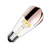 ST64 E27 7.5W Copper Reflect Filament LED Bulb (Dimmable)