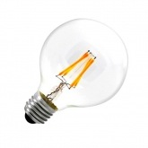 G80 E27 6W LED Balloon Filament Bulb (Dimmable)