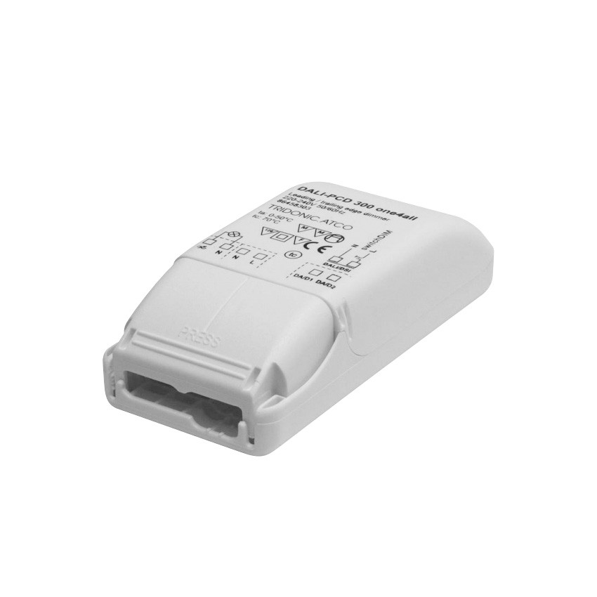 DALI PCD 1-300 one4all Leading-Edge/Trailing-Edge Phase Dimmer for Halogens and Incandescents TRIDONIC