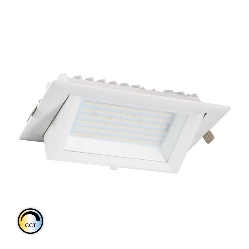 38W Rectangular SAMSUNG 130lm/W  LIFUD LED Spotlight with Selectable CCT