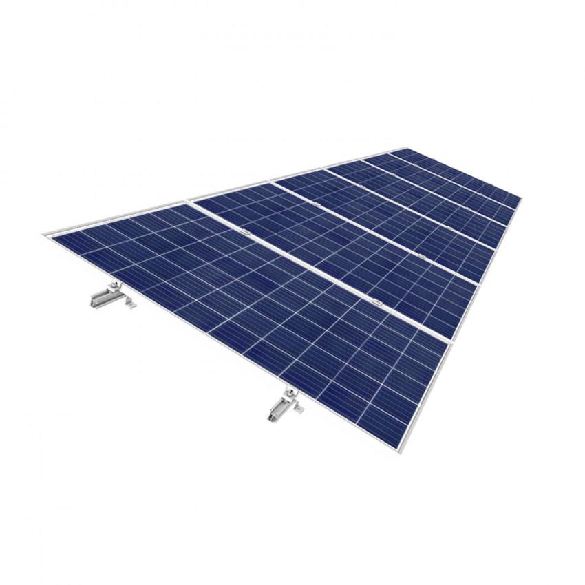 Coplanar Structure for Solar Panels
