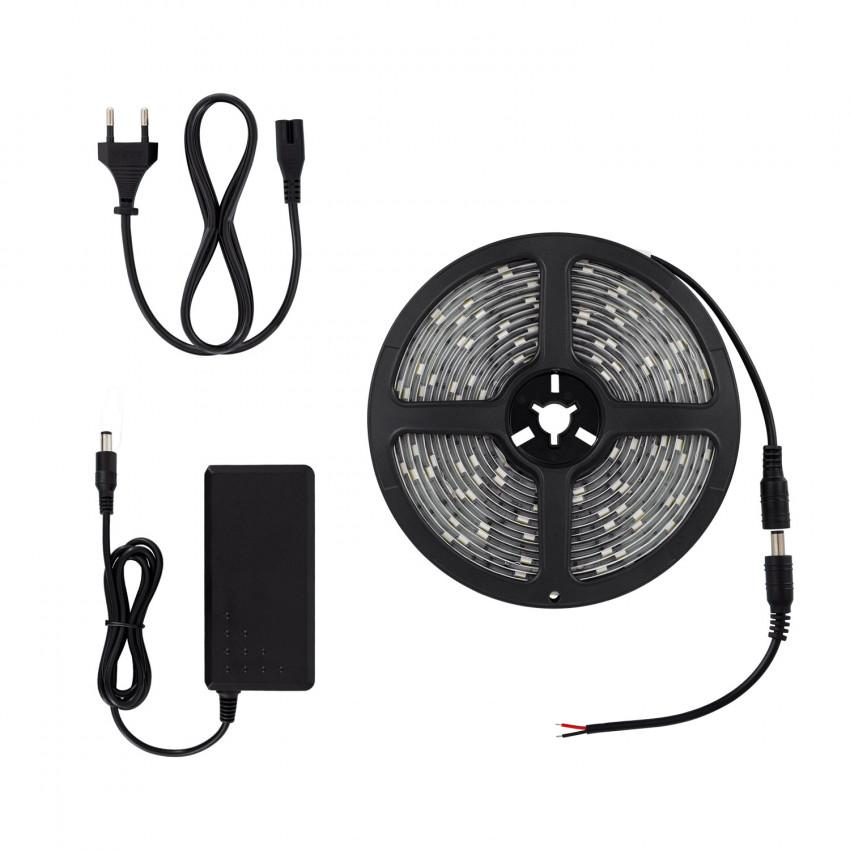 KIT: 5m 24W 30LED/m IP65 LED Strip with Power Supply