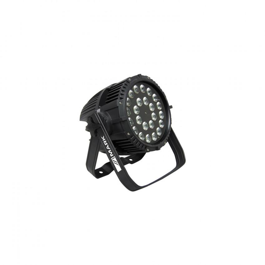 432W SUPERLED 432 IP65 DMX RGBWA + UV LED Spotlight