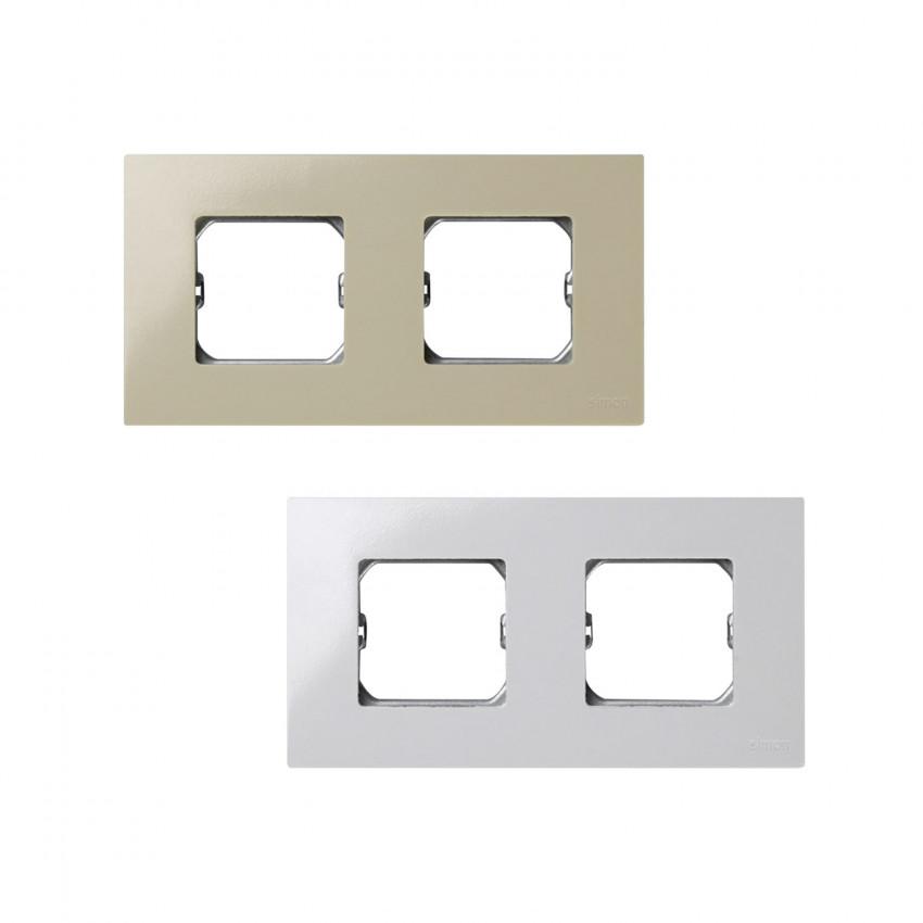 Simon 27 Play Frame 2x Modules 2700620