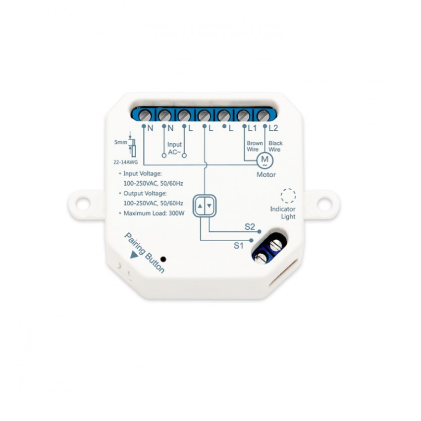 Smart WiFi Switch for Electric Blinds and Curtains