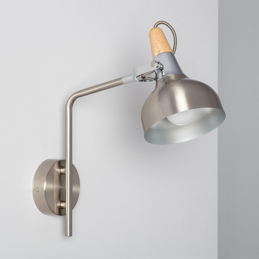 Adjustable Emer Wall Light in Silver (x1)