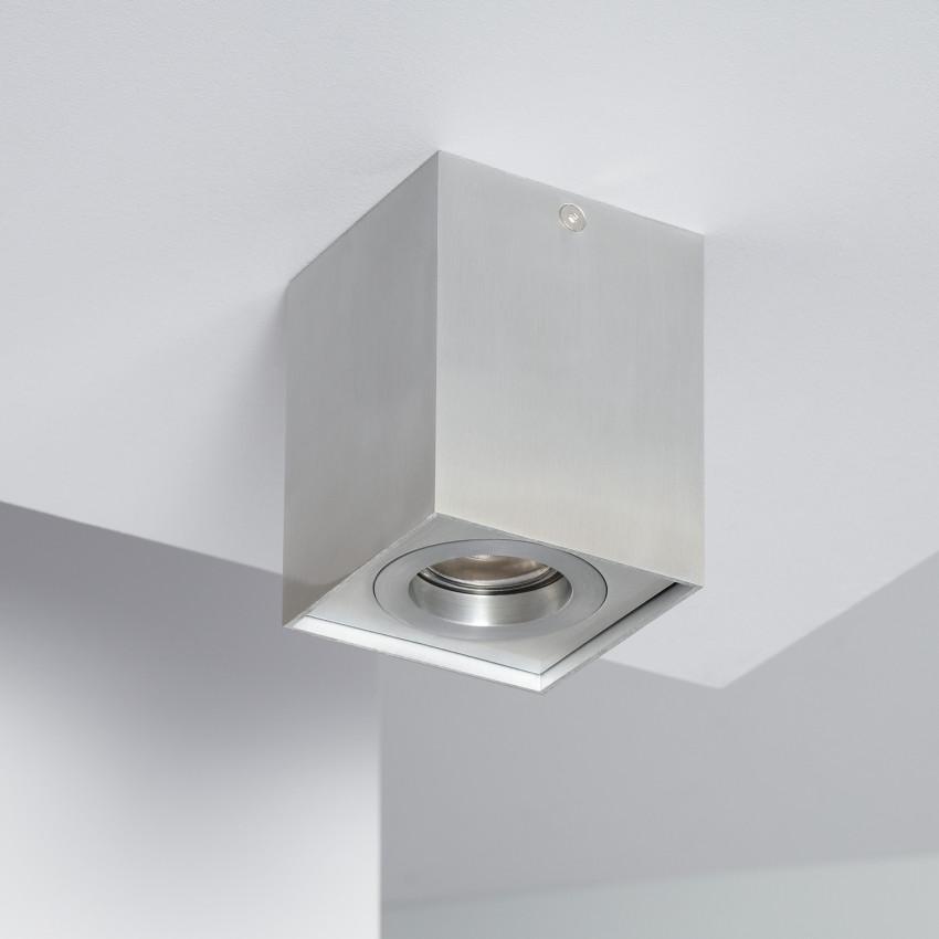 Aluminium Jaspe Ceiling Light in Silver