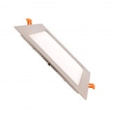 Silver Square 18W UltraSlim LED Panel
