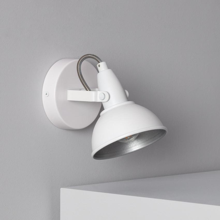 Adjustable Emer Surface Spotlight in White (x1)