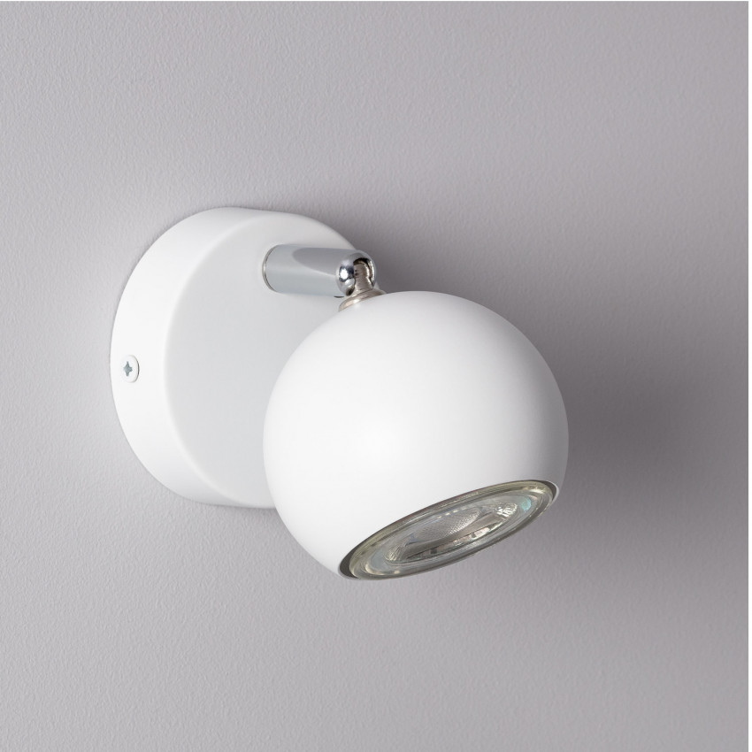 Adjustable Ates Surface Spotlight in White (x1)